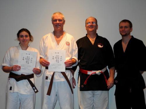 2013 Brown belt test